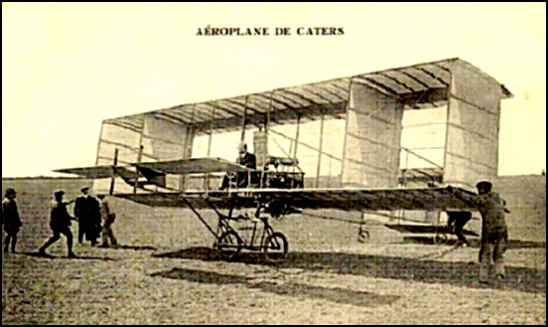 Aéroplane de Caters