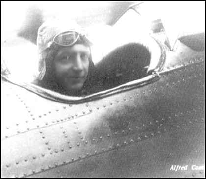 Alfred comte piloting a comte ac 2 when he was an aircraft builder