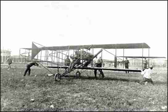 Curtiss in Reims, 1909
