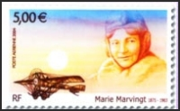 Marvingt Stamp