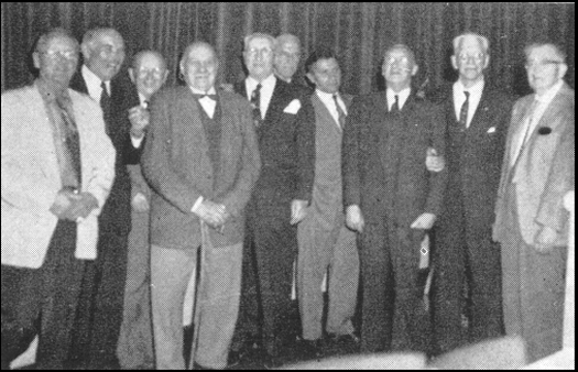 Kitty Hawk Dinner Honors EB's, 1959