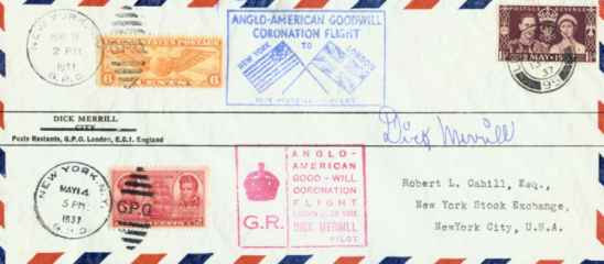 Airmail Cover, 1937