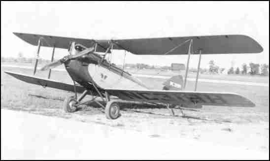 De Havilland Gypsy Moth