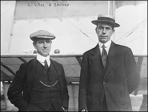 A. V. Roe and his brother