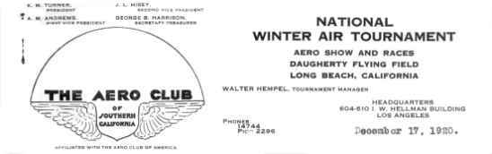 Long Beach letterhead